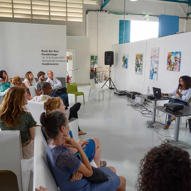 Art et digital – Ma 1ère conférence à la Pool Art Fair 2019
